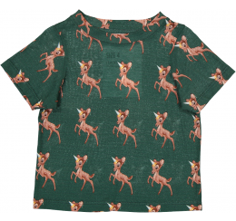 Caroline Bosmans 绿色小鹿T恤