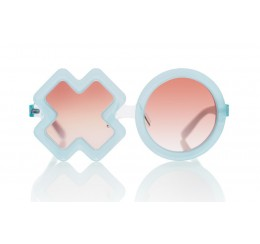 Sons and Daughters XO Sunglasses Jelly Blue