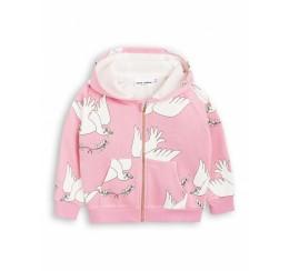 Mini Rodini 粉色鸽子卫衣
