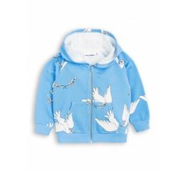 Mini Rodini 蓝色鸽子卫衣