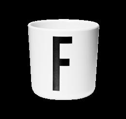 Design Letters Melamine Cup F