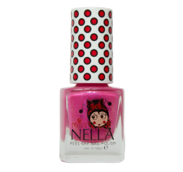 Miss Nella Peel Off Nailpolish Tickle me Pink