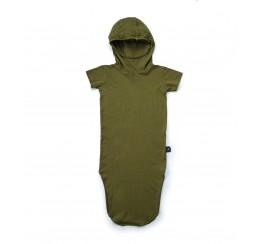 NUNUNU 绿色忍者连衣裙