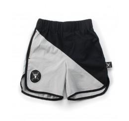 NUNUNU 18 resort 拼色沙滩裤