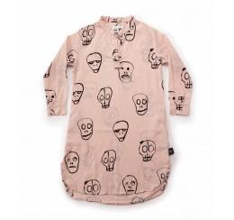 NUNUNU 18 resort 粉色骷髅面具kaftan