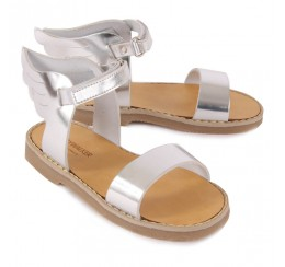 Babywalker 银色翅膀凉鞋