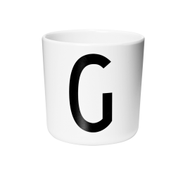 Design Letters Melamine Cup G