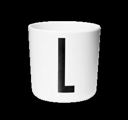 Design Letters Melamine Cup L