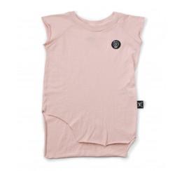 NUNUNU 粉色无袖T恤