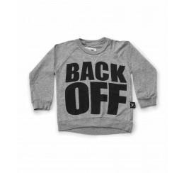 NUNUNU  灰色BLACK OFF T恤
