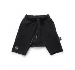 NUNUNU 黑色中裤