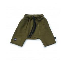NUNUNU 绿色中裤