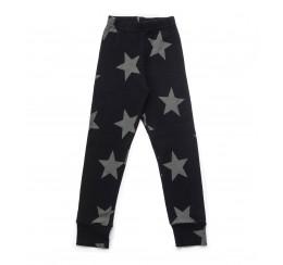 NUNUNU 黑色星星打底裤