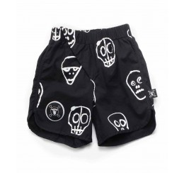 NUNUNU 18 resort 骷髅面具沙滩裤