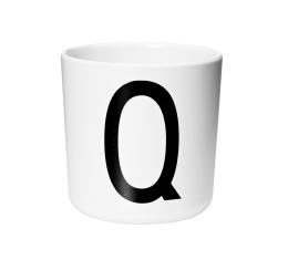 Design Letters Melamine Cup Q