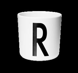 Design Letters Melamine Cup R
