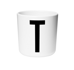 Design Letters Melamine Cup T